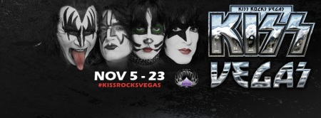 Kiss - Rock Vegas - promotional banner - 2014