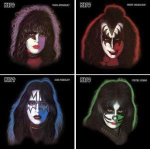 Kiss - solo albums montage - 1978 - #907KSA