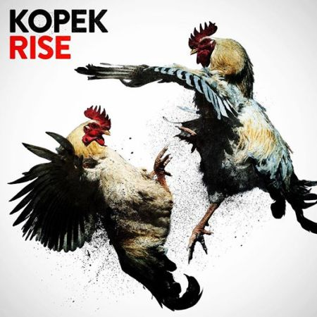 Kopek - Rise - promo album cover pic - 2014
