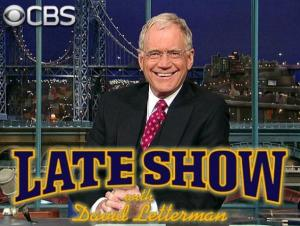 Late Show with David Letterman - promo pic - cbs