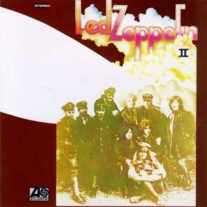 Led Zeppelin II - promo cover pic - original cover - #LZ4