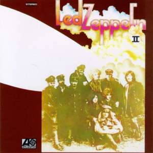 Led Zeppelin II - promo cover pic - original cover - #LZ4