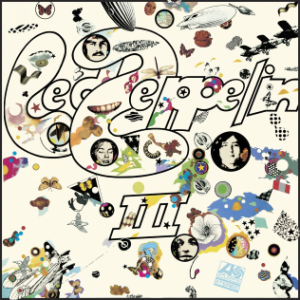 Led Zeppelin - III - promo cover pic - #1970JP
