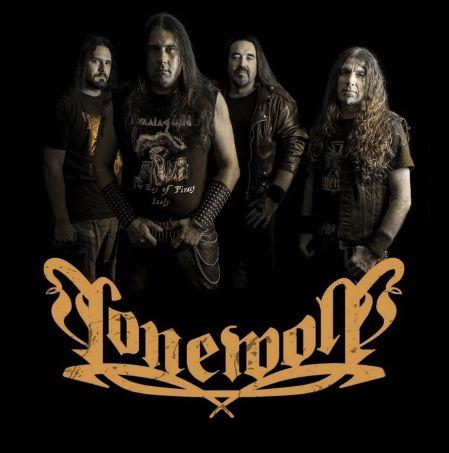 Lonewolf - promo band pic - band logo - 2014 - #30083