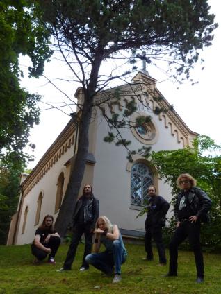 Mausoleum Gate - promo band pic - 2014 - #77Classic