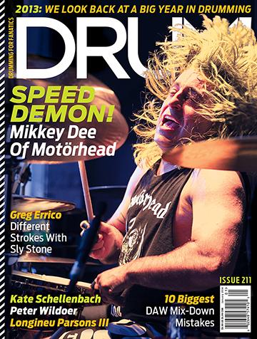 Mikkey Dee - Drum! Magazine - promo cover - #2013211
