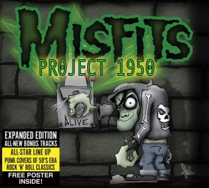 Misfits - Project 1950 - expanded edition - CD cover promo