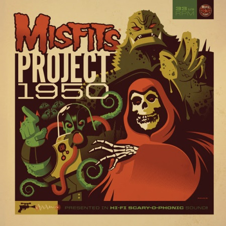 Misfits - Project 1950 - expanded edition LP - promo cover pic