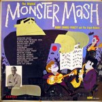 Monster Mash - Bobby Boris Pickett and The Crypt Kickers - promo album cover pic