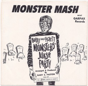Monster Mash - Bobby Boris Pickett - promo single cover - #1962BP