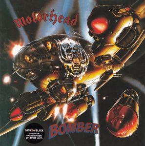 Motorhead - Bomber - promo cover pic - 180 gram vinyl