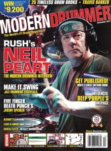 Neil Peart - Modern Drummer Magazine - promo pic - #773NP - Rush