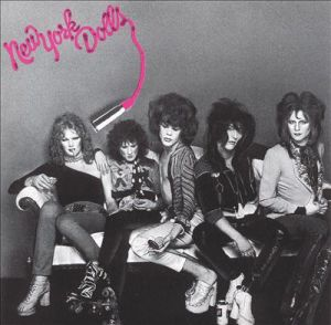 New York Dolls - debut album cover promo - 1973