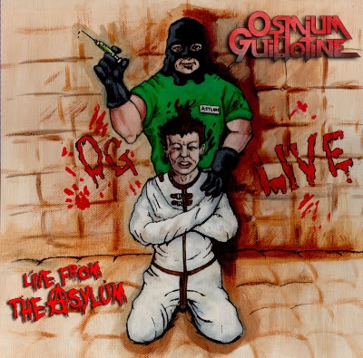 Osmium Guillotine - Live From the Asylum - promo cover pic