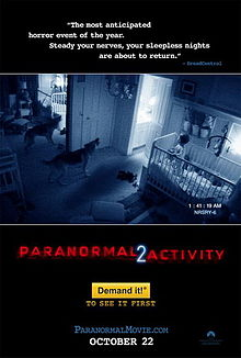 Paranormal Activity 2 - movie poster promo pic - 2010 - #PA2