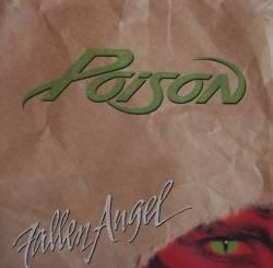 Poison - Fallen Angel - single cover art - 1988