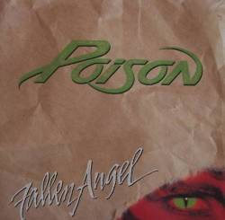 Poison - Fallen Angel - single cover art - 1988