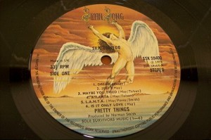 Pretty Things - Silk Torpedo - vinyl promo pic - Swan Song Records