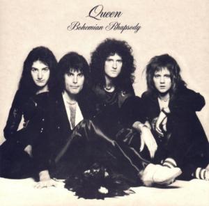 Queen - Bohemian Rhapsody - promo cover pic - 1974FM