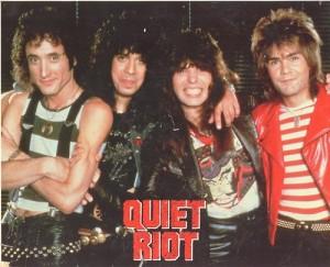 Quiet Riot - promo band poster pic - circa 1983-1984 - #83