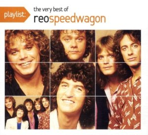 Reo Speedwagon -  Playlist - The Very Best Of - promo cover pic - #2003REO