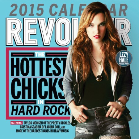 Revolver's Hottest Chicks In Hard Rock Calendary - 2015 - Lzzy Hale