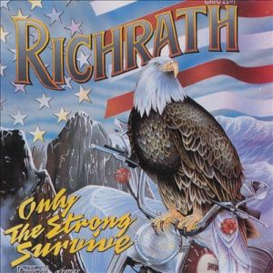Richrath - Only The Strong Survive - Gary Richrath - 1992 solo album promo cover