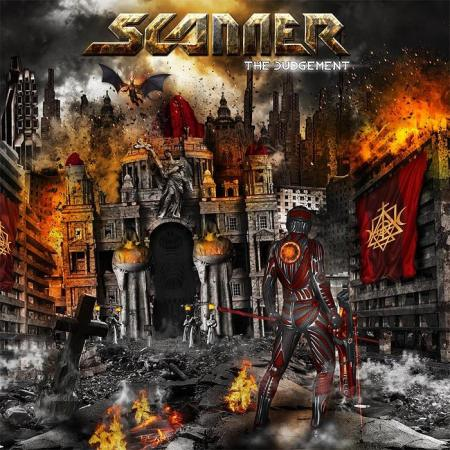 Scanner - The Judgement - promo album cover pic - 2014