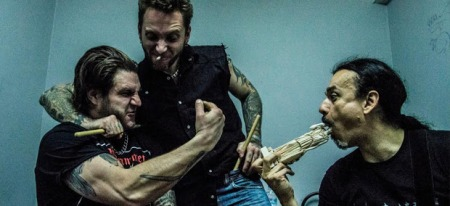Schrinec Does Pungent Stench - Promo band pic - 2014 - #70