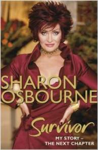 Sharon Osbourne - Survivor - promo book cover - 2008