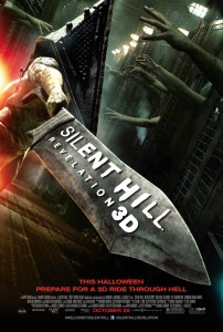 Silent Hill Revelation 3D - promo movie poster pic - 2012