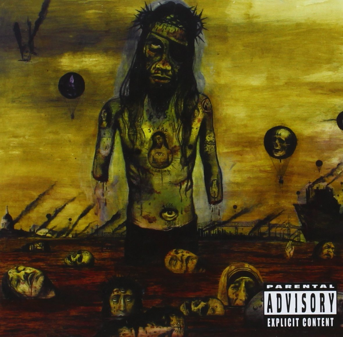 Slayer South Of Heaven Cover Slayer Divine Intervention Wallpaper