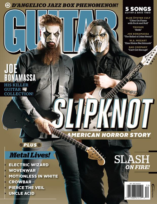 Slipknot Guitar World Metal Odyssey Heavy Metal Music Blog
