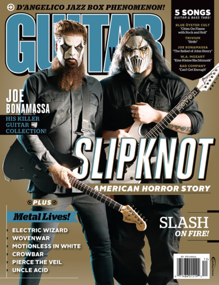 Slipknot - Guitar World - Magazine Cover promo - 2014 - December