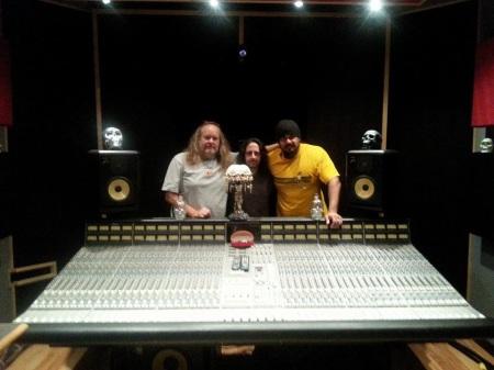 Snake Eyes Seven - Recording Studio - promo pic - 2014 - #44M