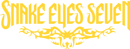 Snake Eyes Seven - yellow band logo - 2014