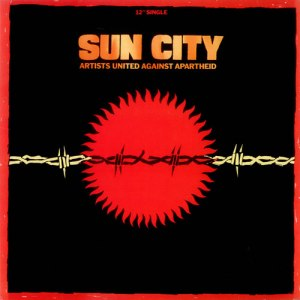 Sun City - Artists United Against Apartheid - promo cover pic - #1985