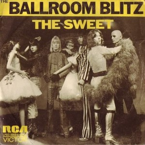 Sweet - The Ballroom Blitz - promo single cover sleeve - 1975BC