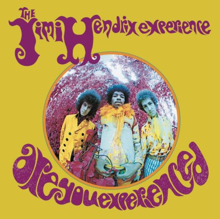 The Jimi Hendrix Experience - Are You Experienced - promo cover pic - #67JH