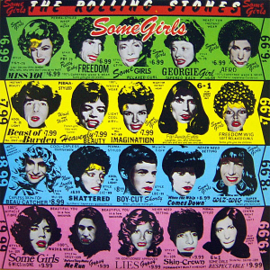 The Rolling Stones - Some Girls - promo cover pic