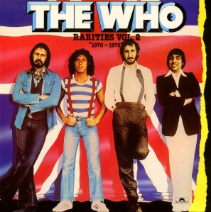 The Who - Rarities Vol 2 - 1970-1973 promo cover pic