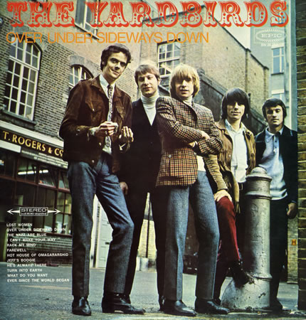 The Yardbirds - Over Under Sideways Down - German Album Sleeve - 1966JB