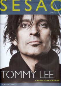 Tommy Lee - Sesac Magazine - cover promo - spring 2012