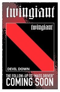 twingiant - devil down - promo album flyer - 2014 - #16