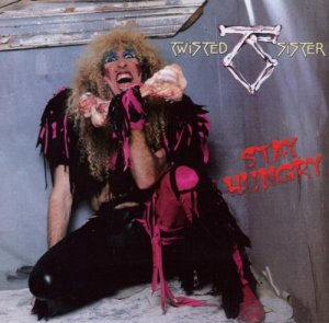 Twisted Sister - Stay Hungry - promo album cover pic - #33TS