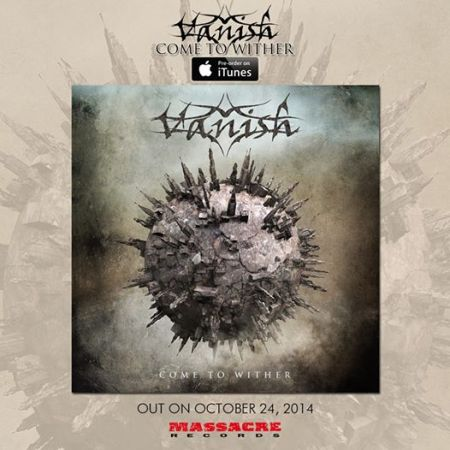 Vanish - Come To Wither - promo cover pic - 2014 - #4599