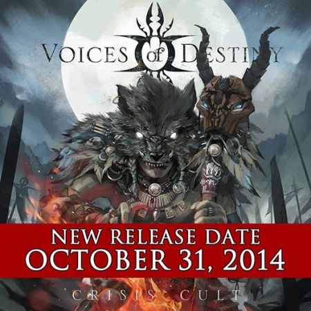 Voices Of Destiny - Crisis Cult - October 31 - 2014 - promo album flyer