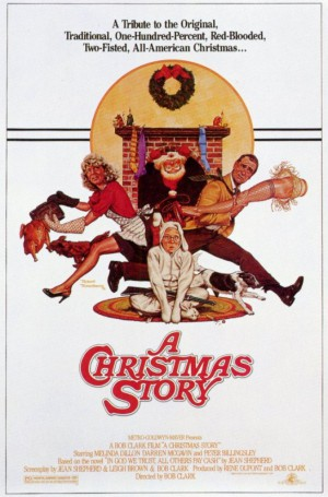 A Christmas story - promo movie poster pic - #1984BB
