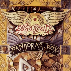 Aerosmith - Pandoras Box - promo album cover pic - #1991BW