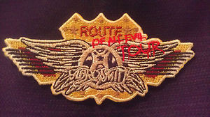 Aerosmith Route Of All Evil Tour - 2006 - promo patch pic